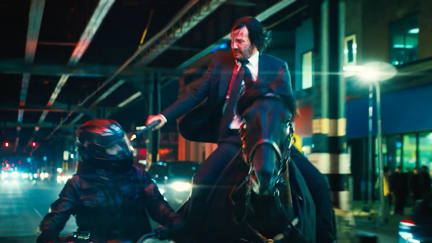 John Wick 3 Trailer Pits Keanu Reeves Against A World Of Assassins   Movies   News