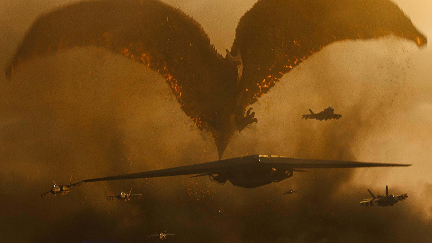Rodan Is Like A 'Massive A-Bomb' In Godzilla: King Of The Monsters – Exclusive Image