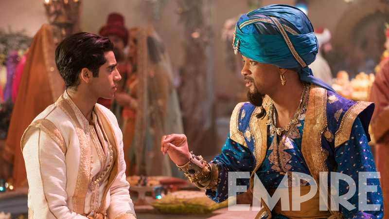 Will Smith Thinks Aladdin Genie Memes Are 'Very Funny' – Exclusive Image